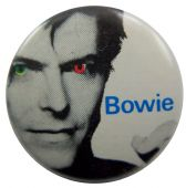 David Bowie - 'Coloured Eyes' Button Badge